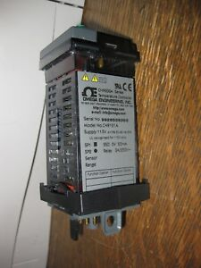 Omega temperature Controller Cn9000a Cn90121a Panel Mount Made In The Usa