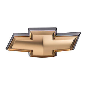 Oem New Front Grille Gold Bow Tie Emblem Badge 05 10 Chevrolet Cobalt 15252974