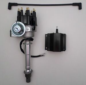 Small Big Block Chevy Black Small Cap Ready To Run Hei Distributor 50 000 Coil