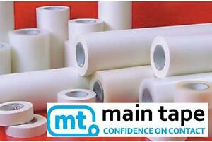 305mm 12 Main Tape Paper Roll Of Application Transfer Tape Clear A4
