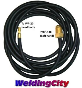 Tig Welding Power Cable water Hose Rubber 45v04r 25 ft Torch 20 Us Seller Fast
