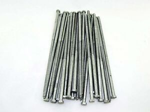 30 Galvanized Hex Head 3 8 X 12 Lag Bolts Wood Screws