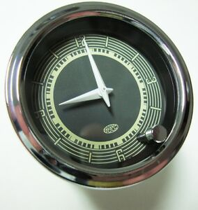 12v Clock For Vw Porsche 356 Vintage Bug Ghia Bay Splitscreen Beetle Aac053