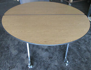 Sico 5 Pacer Cafeteria Catering Restaurant Rolling Foldout Table