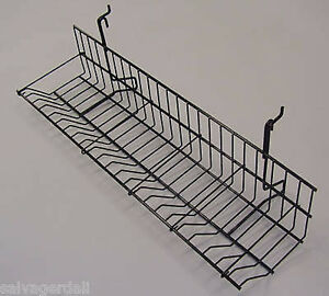 Cd dvd Shelf Gridwall Slatwall Slatgrid Black Display Shelves Lot Of 20 New
