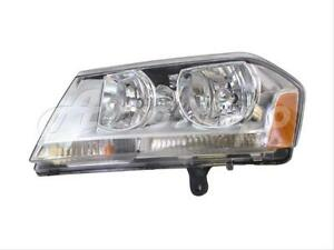 For 2008 2013 Dodge Avenger Sxt Se Model Headlight Headlamp W bulb