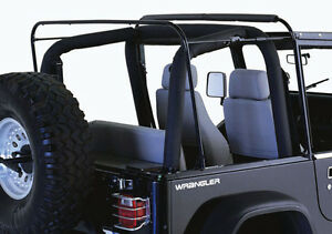 Rampage Replacement Soft Top Hardware 87 95 Jeep Wrangler Yj 69999 Black