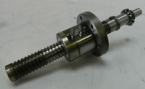 Nsk Ball Screw Nut Assembly Off Of Fanuc Robocut Wire Edm W2001 464p c5z