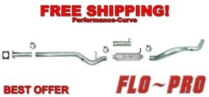 4 Stainless Exhaust Cat Back Flo Pro Ss823 Fits 01 05 Chevrolet Gmc Duramax
