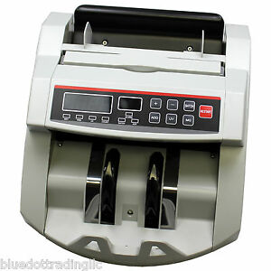 Cash Money Bill Counter With Counterfeit Detector New In Box