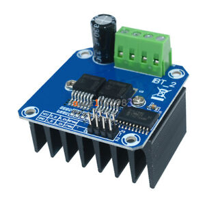 Double Bts7960b Dc 43a Stepper Motor Driver H bridge Pwm For Arduino Smart Car