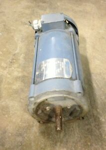 Emerson Electrical Dc Motor 3120 420 1750 Rpm 1 Hp 3120420