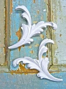 Shabby N Chic Floral Architectural Furniture Appliques