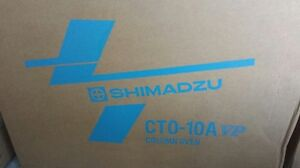 Shimadzu Cto 10a Vp Column Oven New