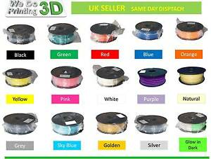 3d Printer Filament Abs 1 75mm 1kg 0 5kg 25 Colours I3 Reprap