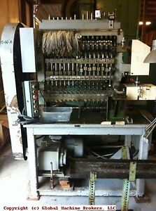 Waterbury Farrel 1016 Icop Transfer Press W Clutch