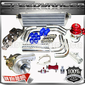 97 04 Audi 98 05 Vw Passat Gls Sedan wagon 4d 1 8l 1781cc Dohc Gt3076 Turbo Kit