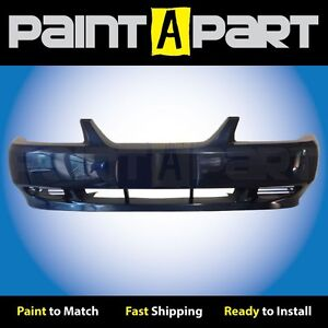 2002 2003 2004 Ford Mustang Base Front Bumper Painted L2 True Blue Metallic