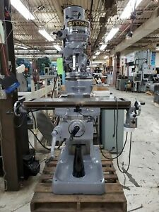 Supermax Model Yc 9 X 42 Milling Machine Priced To Sell Must Sell Moving