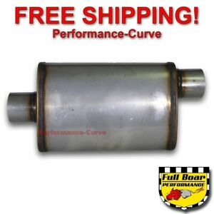 3 O C Performance Exhaust Muffler High Flow Max Flow Stainless Steel 4x9 Mf1229