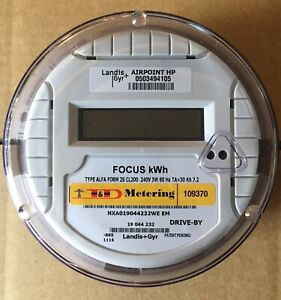 Itron Watthour Meter kwh C1s Centron 240 Volts Fm2s 200 Amps 4 Lugs
