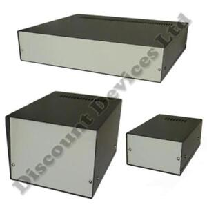 Aluminium Enclosure Project Desk Top Box For Electronic Professional Quality