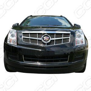 2010 2011 2012 Cadillac Srx Chrome Grille Insert Grill Overlay Trim Molding
