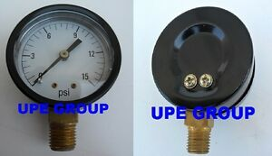 Pressure Gauge Wog Compressor Industrial Hydraulic 2 Face 0 15 Lower Mnt Mi