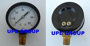 Pressure Gauge Wog Compressor Industrial Hydraulic 2 5 Face 0 60 Lower Mnt Mi