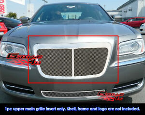 Fits Chrysler 300 300 C Stainless Steel Mesh Grille Grill Insert Fits 2011 2014