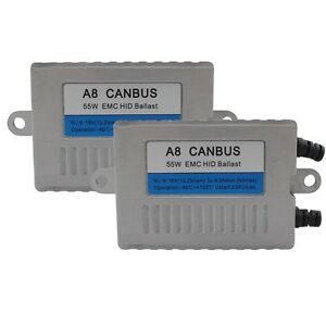 Ac 55w Canbus Xenon Hid Replace Ballast With Warning Canceller Decoder