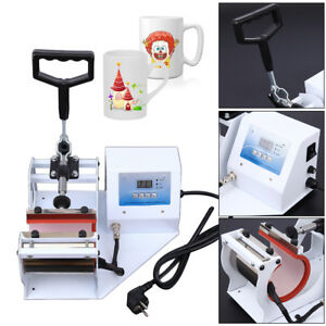 Heat transfer Printing Baking Cup Machine Digital Mug Cup Heat Press 110v