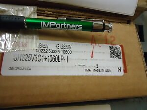 Thk Shs25v3c1 1060lp ii Linear Actuator Brand New 2 Pieces