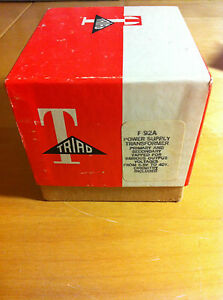 Triad F 92a Power Supply Transformer nos