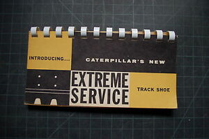 Cat Caterpillar Tractor Dozer Track Shoe Service Sales Brochure D6 D7 D8 D9 Book