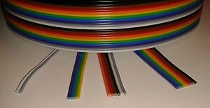 Ribbon Cable 2a 3d Printer Stepper Motors End Stop Switch Wire 24awg