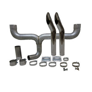 Grand Rock Stack Kit Dual 4 Inlet 5 Stack Bull Horn