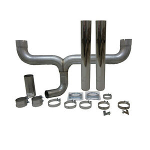 Grand Rock Stack Kit Dual 4 Inlet 5 Stack Straight Cut