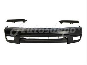 For 2001 04 Tacoma 2wd Prerunner Front Bumper Up Valance Grille Filler Panel 5pc