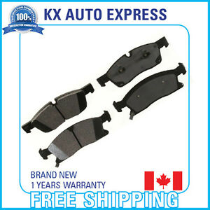 Front Ceramic Brake Pads For Jeep Grand Cherokee 3 6l 2012 2013 2014