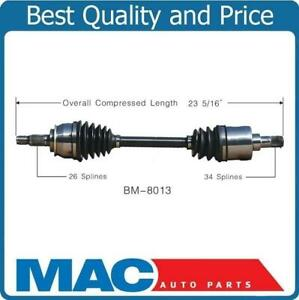Cv Axle Shaft new D s Supercharged Fits 02 06 Mini Cooper S With Manual Trans