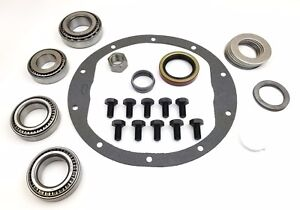 Gm Chevrolet 8 5 Master Ring And Pinion Installation Kit Rear