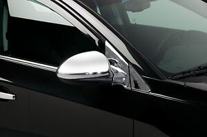 Chrome Mirror Cover Overlays Fits 2011 2014 Chevy Cruze