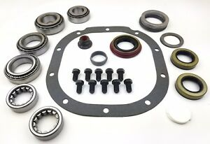 8 8 Ford Ring And Pinion Bearing Master Kit With Axle Bearings And Seals car