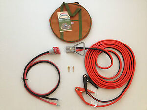 2 Gauge 30 Ft Quick Disconnect Jumper Booster Cable Set Tow Service Truck 2101d