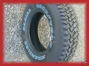 4 New 235 75r15 Goodyear Wrangler Radial All Terrain Tires 235 75 15 2357515 R15