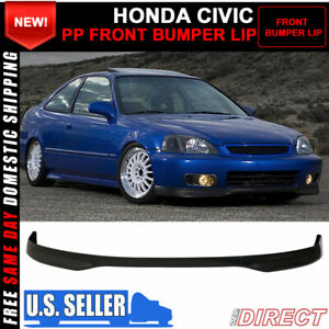 For Sale Fits 96 98 Honda Civic Tr Style Front Bumper Lip Pp