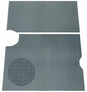 64 66 Gto Lemans Gray Houndstooth Spare Tire Luggage Compartment Trunk Mat 2pc