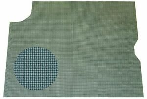 67 Gto Lemans Aqua Houndstooth Spare Tire Luggage Compartment Trunk Mat 1pc