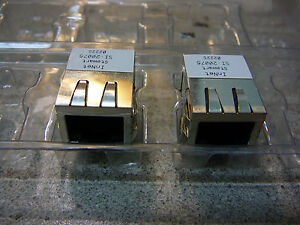 Innet Stewart Telephone Connector 8 contact Right Angle Solder new 2 pkg